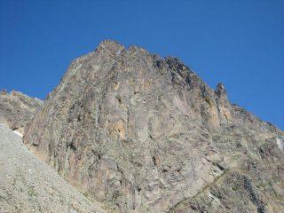 la verticale parete Sud-Est