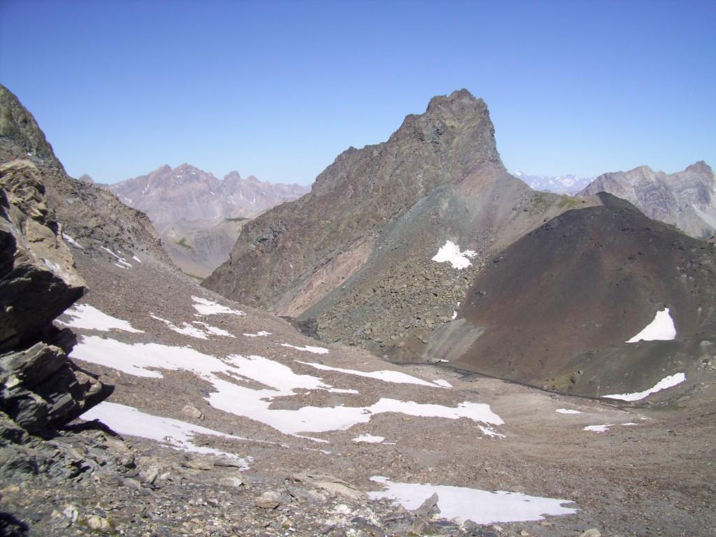 Pic du Pelvat dal passo Chibrera