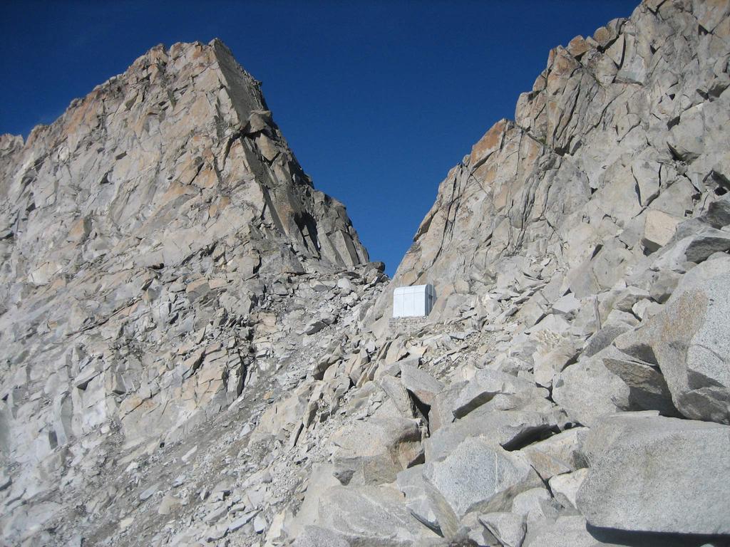 Passo Brizio e il Bivacco Zanon -Morelli