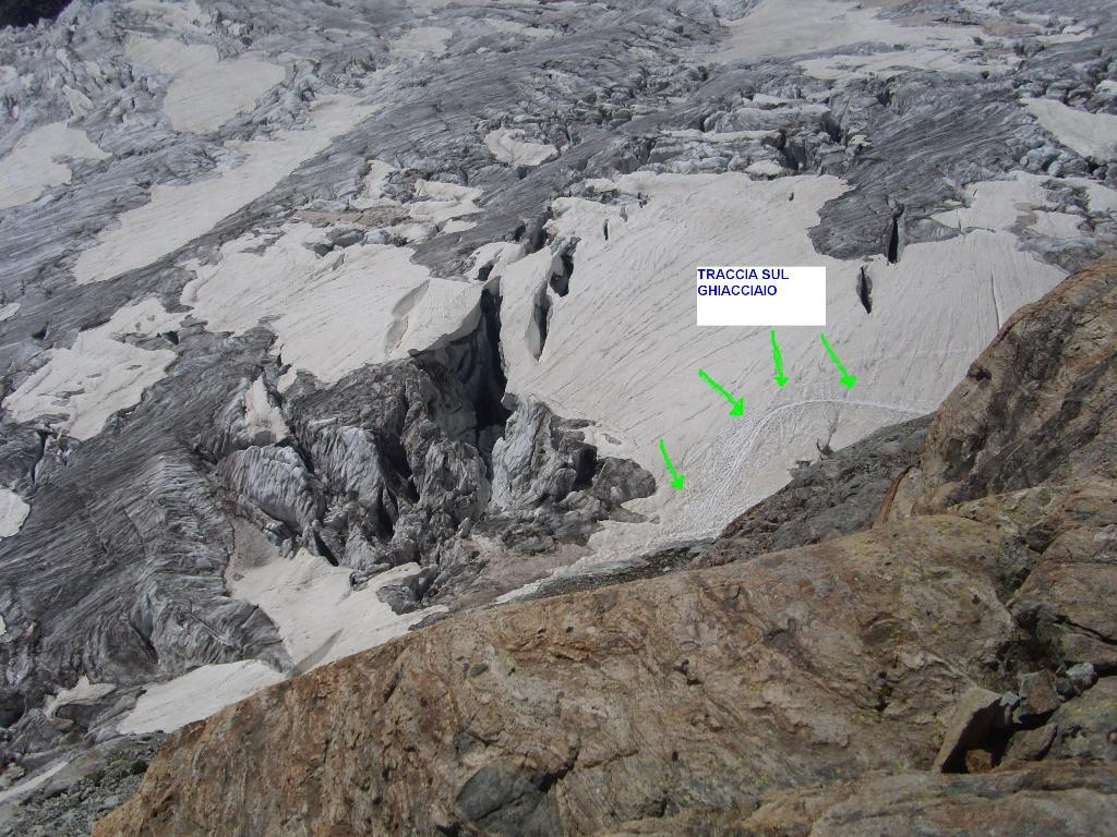 Il pezzo su ghiacciaio che ho preferito evitare