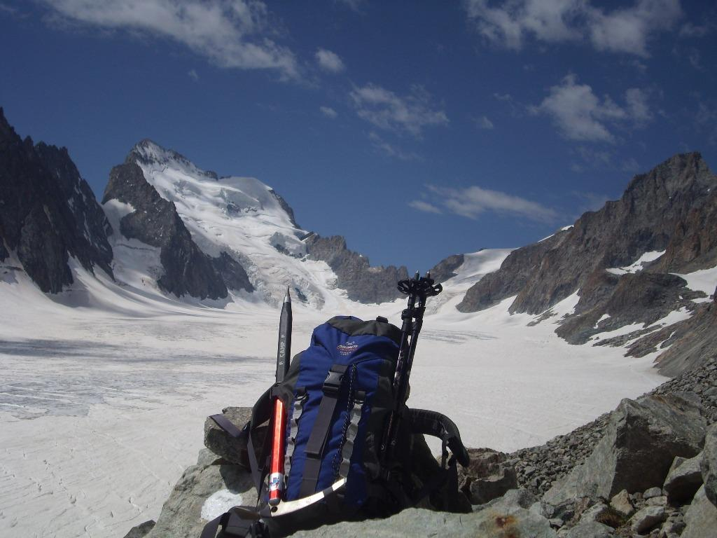 Barre des Ecrins e Glacier Blanc