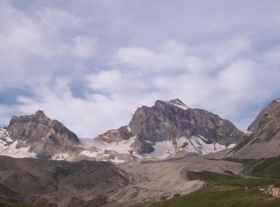 Roc Basagne (3222m) e Roc du Fond (3351m)