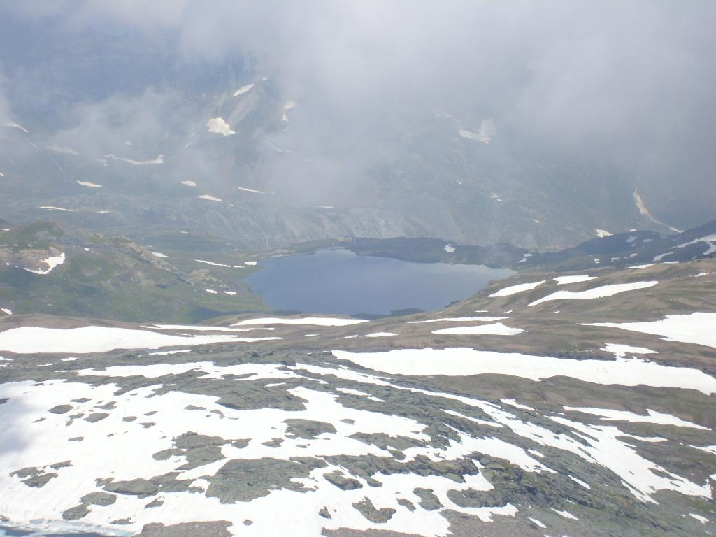 Lago Miserin dal Colle della Rosa