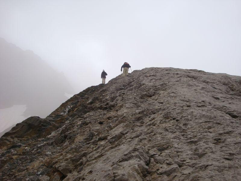 la dorsale rocciosa