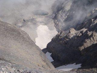 Escupidera e lago Gelato dalla vetta