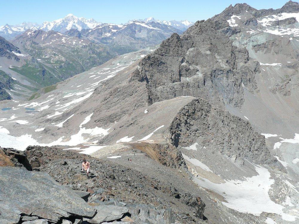 Cresta di salita, Bianco e Valgrisenche.