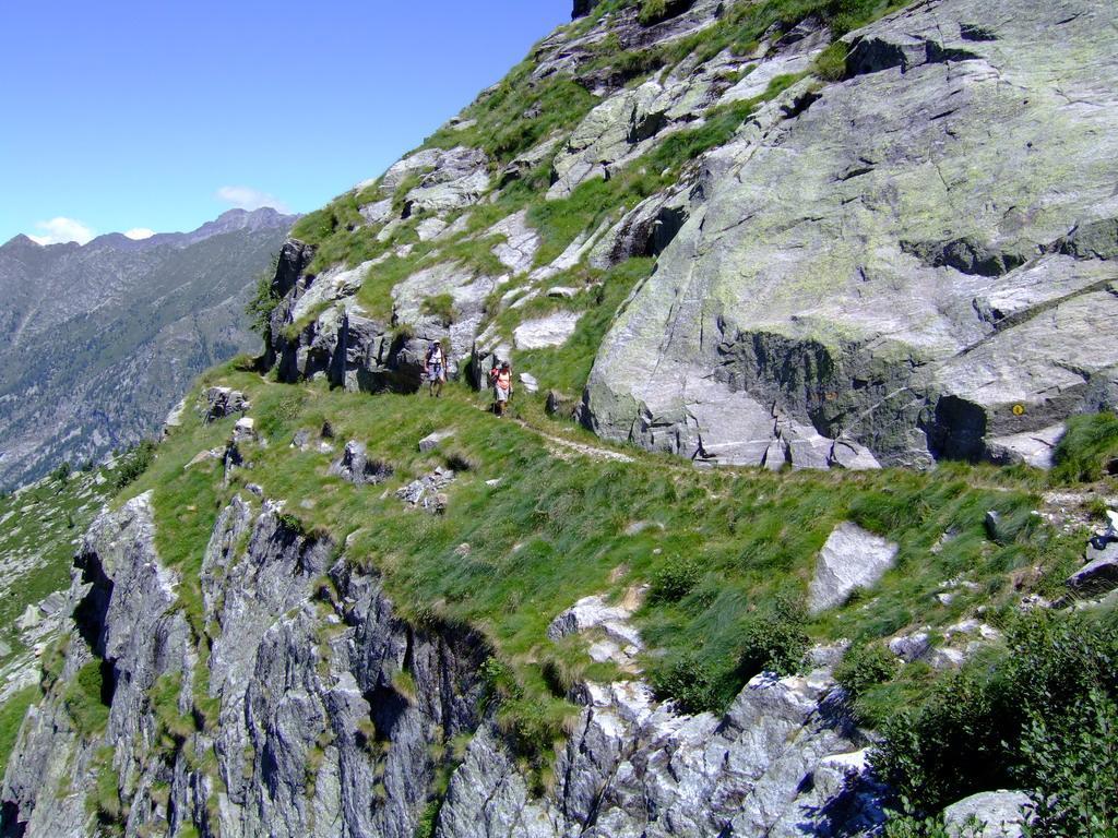 Sentiero n° 9 poco prima del colle