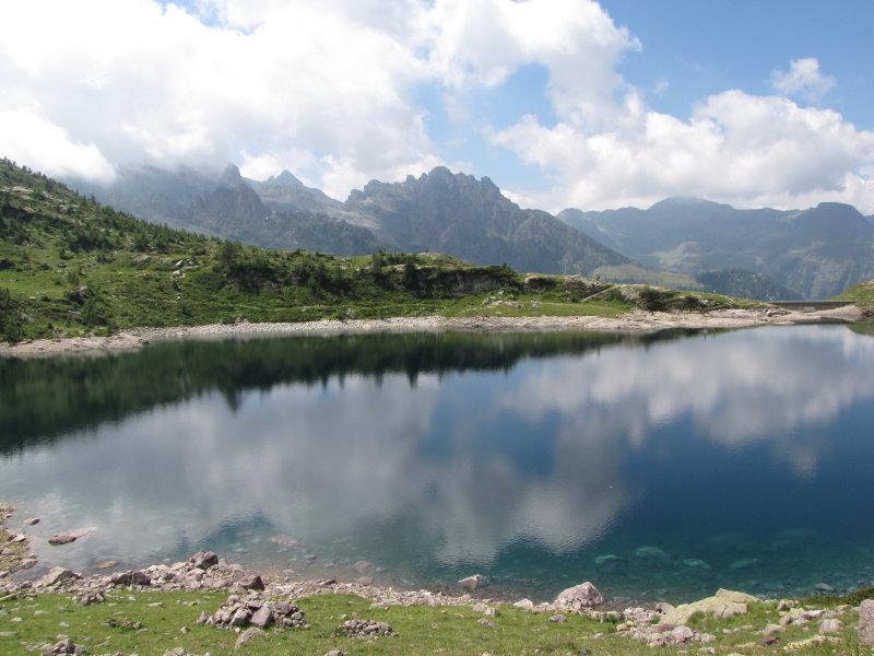 Il lago di Pescegallo