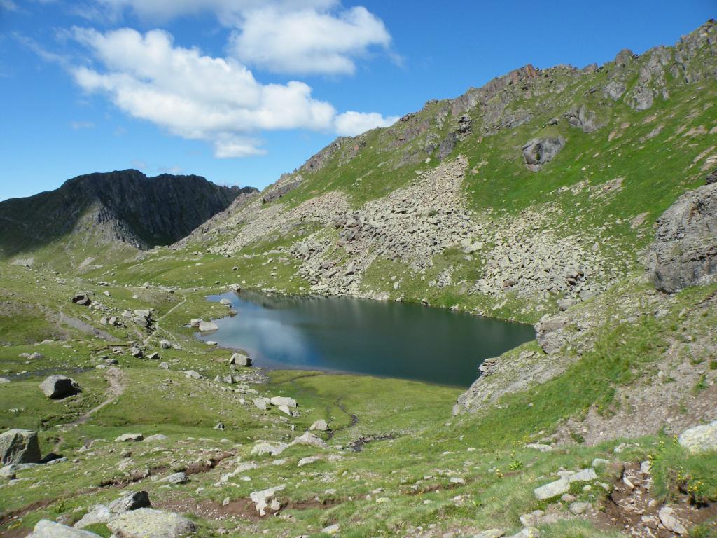il lago Lusia Superiore