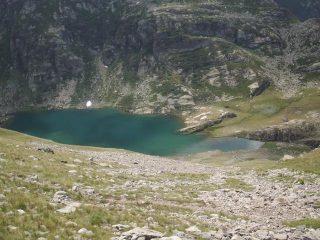picchiata sul lago del Vei del Bouc
