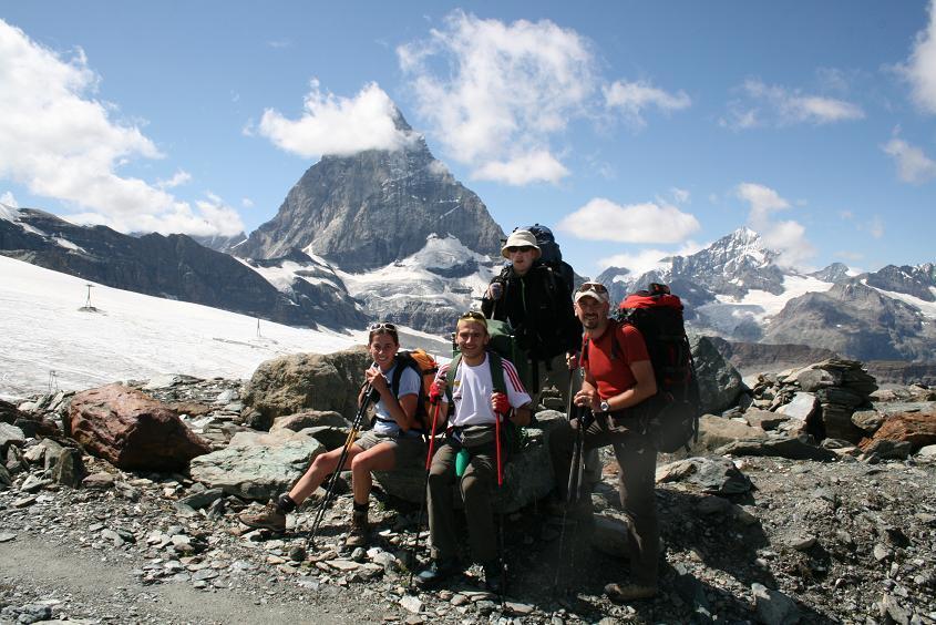 Zermatt, il cervino salendo al Teodulo