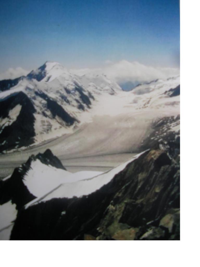 L'Aletschhorn... salendo al Grun-horn