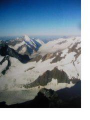 L'Aletschhorn dal Finsteraarhorn