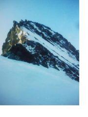La cresta nord-ovest dalla Hugisattel