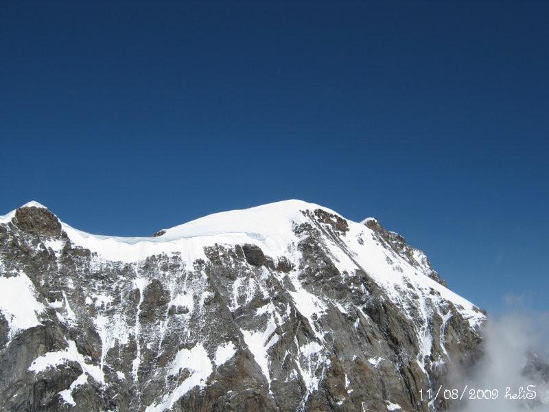 Cima Parrot dalla cima della Punta Giordani
