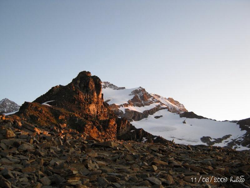 Mattinata promettente: alba sullo Stolemberg