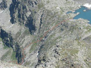 Ferrata del lago Pietra Rossa