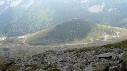 Discesa verso l'Alpe di Sellery