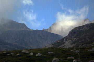 Una breve schiarita sui monti dell'Orsiera