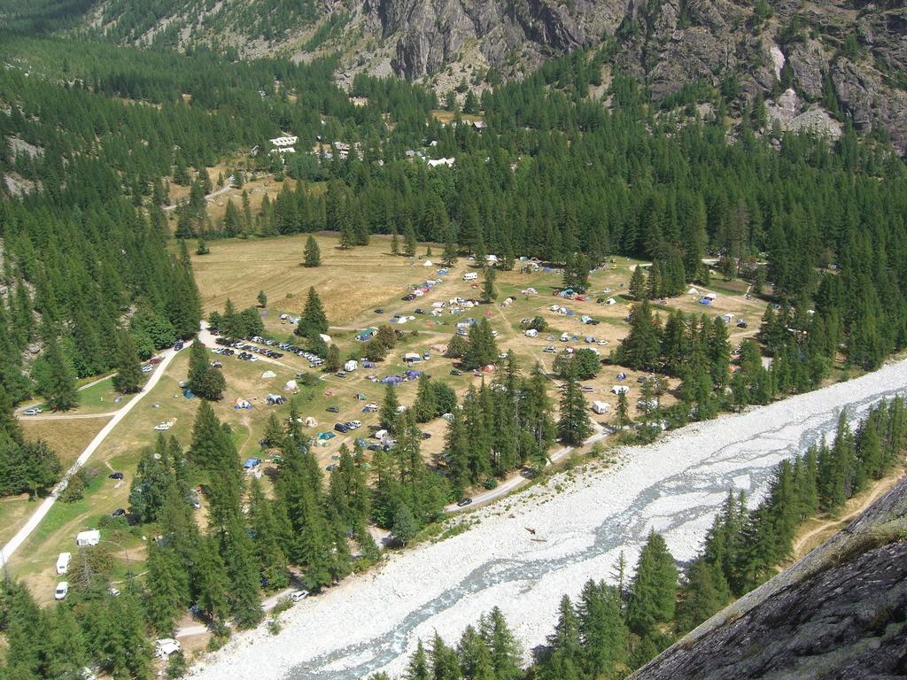 Panorama sul campeggio