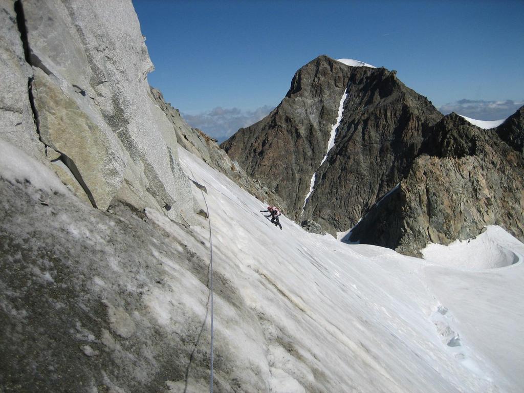 Il traverso ghiacciato (utili i chiodi)