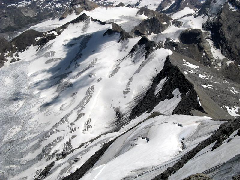 Cresta della via italiana alla G.de Sassiére