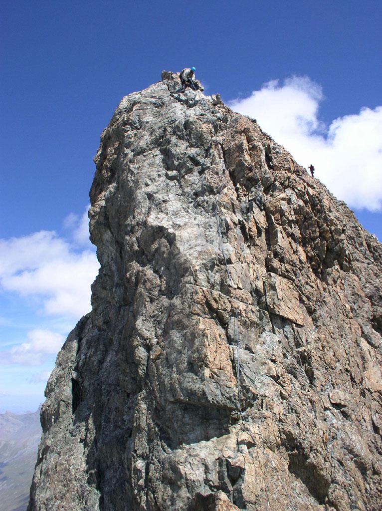 attacco delle rocce finali
