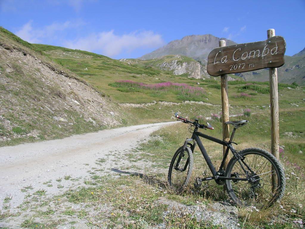 Dove inizia il sentiero per la Becca France