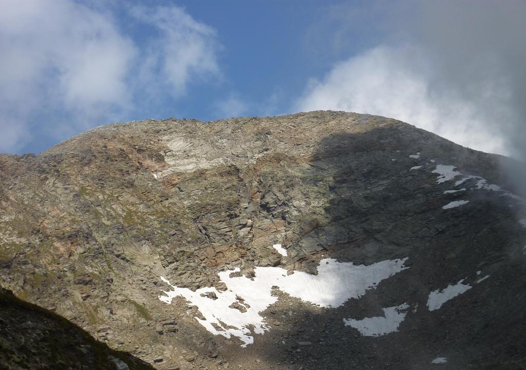 Mont Glacier dalla via di salita