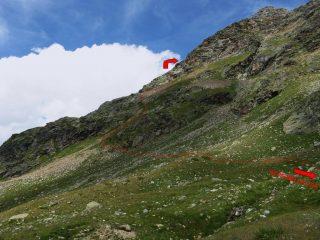 sentiero dopo l'Alpe Bellatza