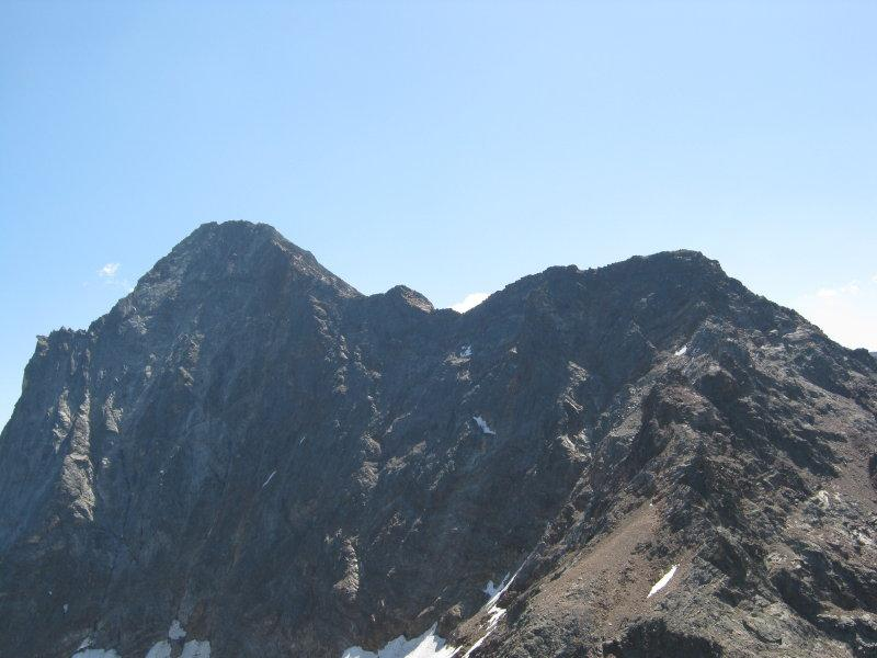 La cresta dell'Emilius