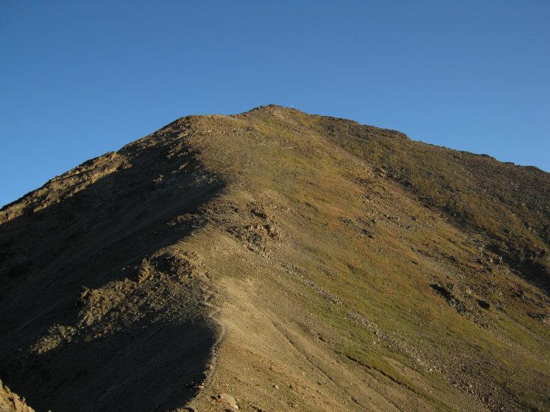 La cima dal Col Carrel