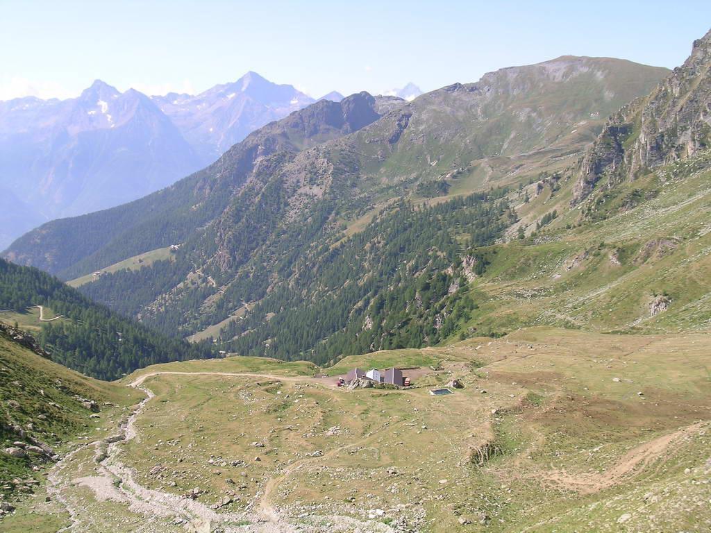 Alpe Champanement, salendo al Chaleby