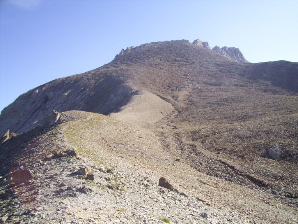 la pointe d'Aval
