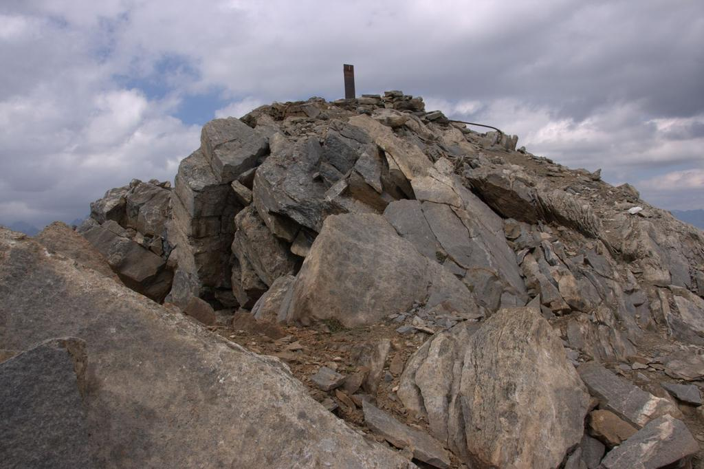 la vetta della Grande Rochère è vicinissima ! (22-8-2009)