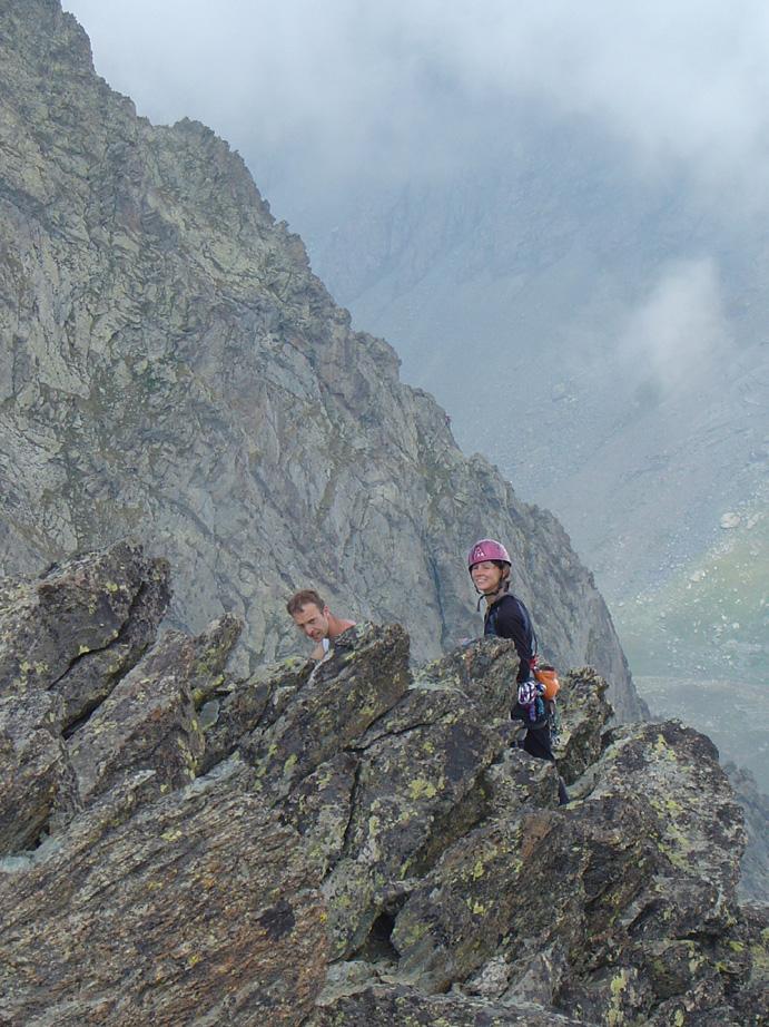 ...ed ecco gli scalatori