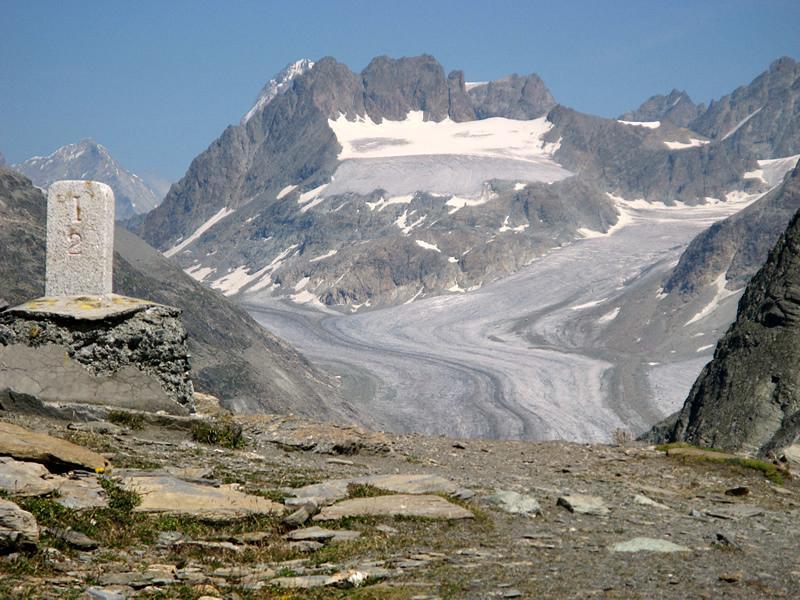 Petit Mont Collon dalla Fenetre Durand