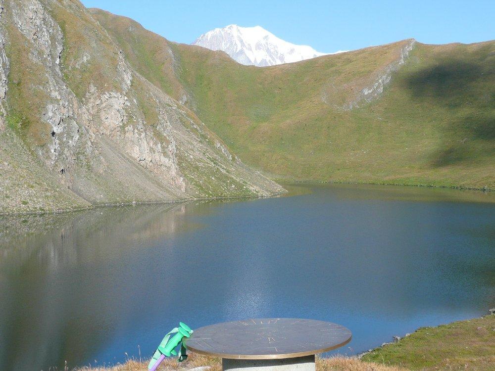 Lago con atmosfera magica