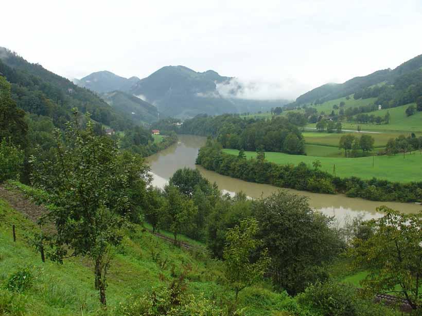 Pista Ciclabile dell'Ens dalla sorgente al Danubio 2009-08-24
