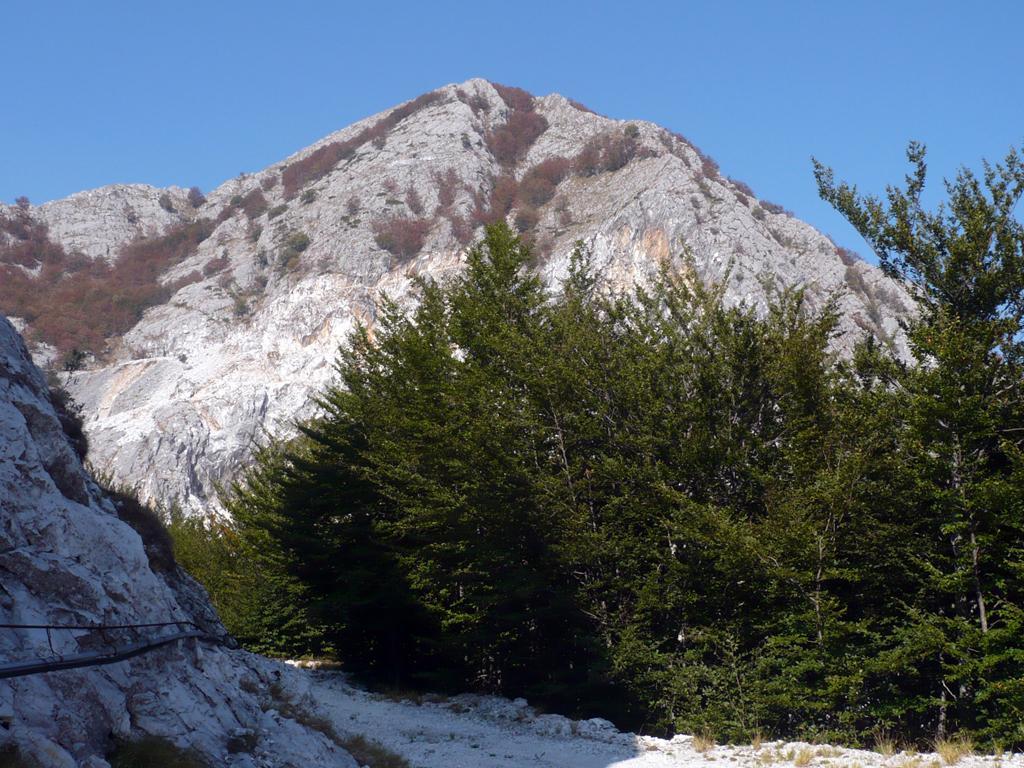 Monte Altissimo visto dalla cava del Fondone