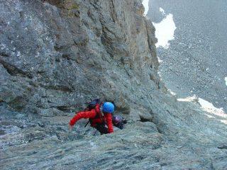 tratto di arrampicata