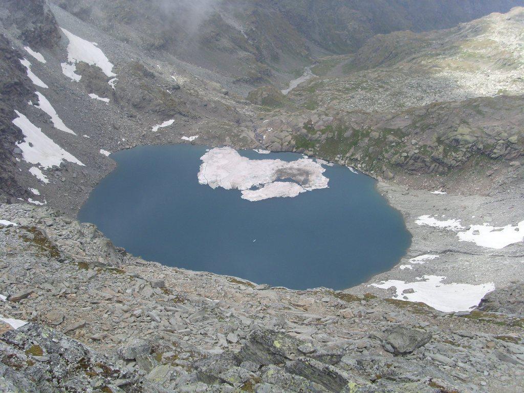Lac d'Ambin  visto dalla Croce Blais