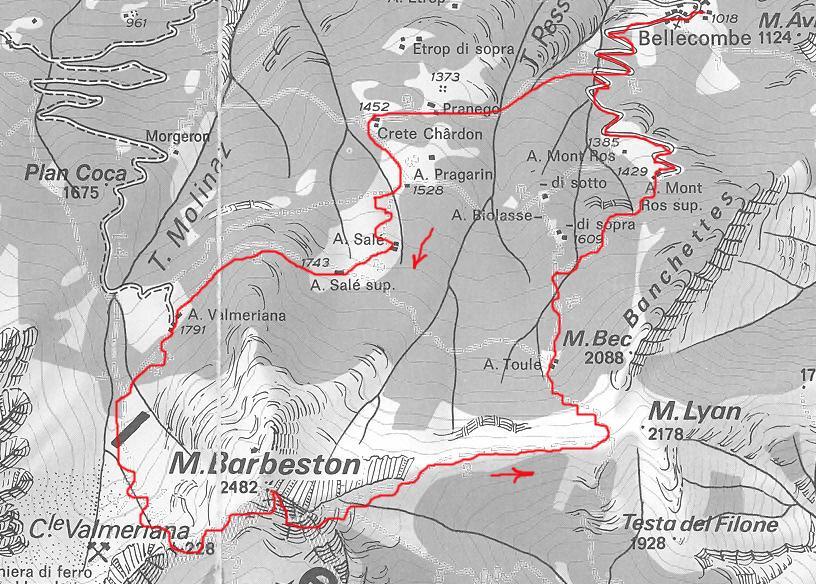 Barbeston traccia anello