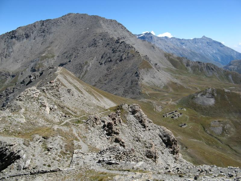 Punta Clairy vista dal Mont Froid