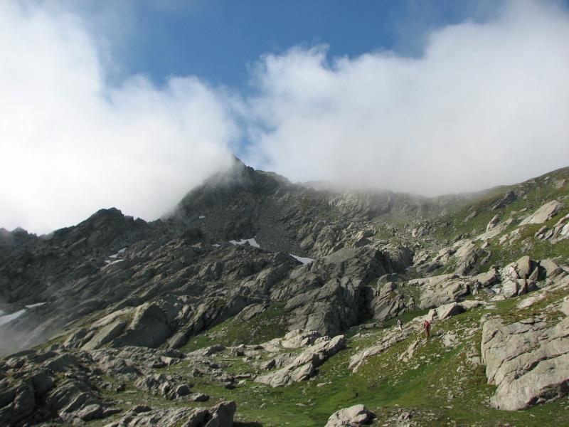 Monte Marzo, scoperto per un attimo
