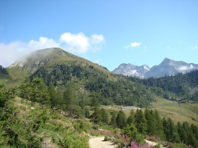 Taf (Bocchetta del monte) Giro Estoul, Colle Ranzola, Weissmatten, Bocchetta del Taf, Passo Frudiere 2009-08-30