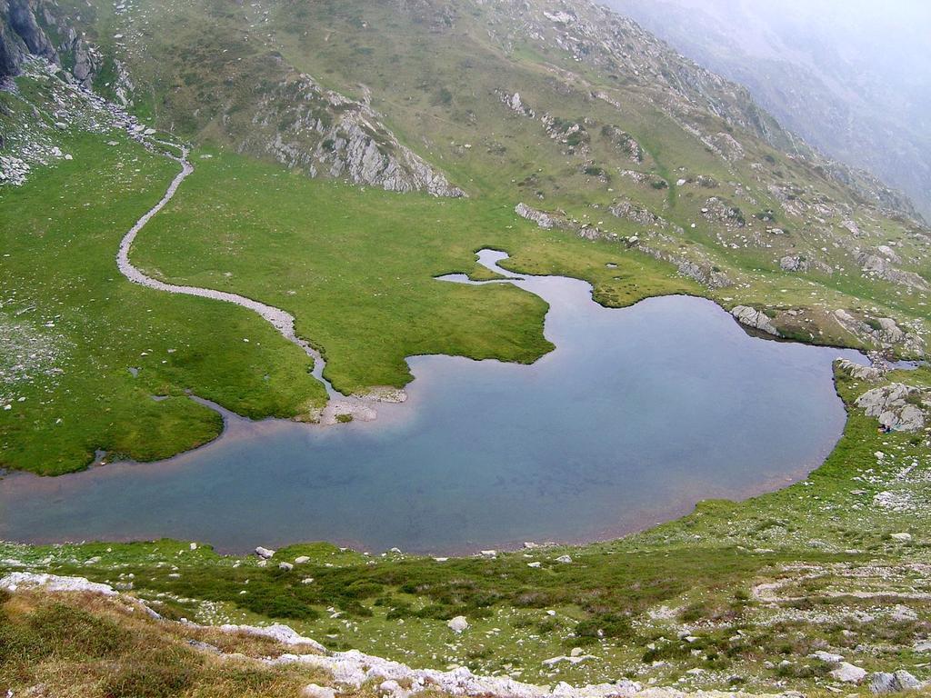 Il lago della Vacca