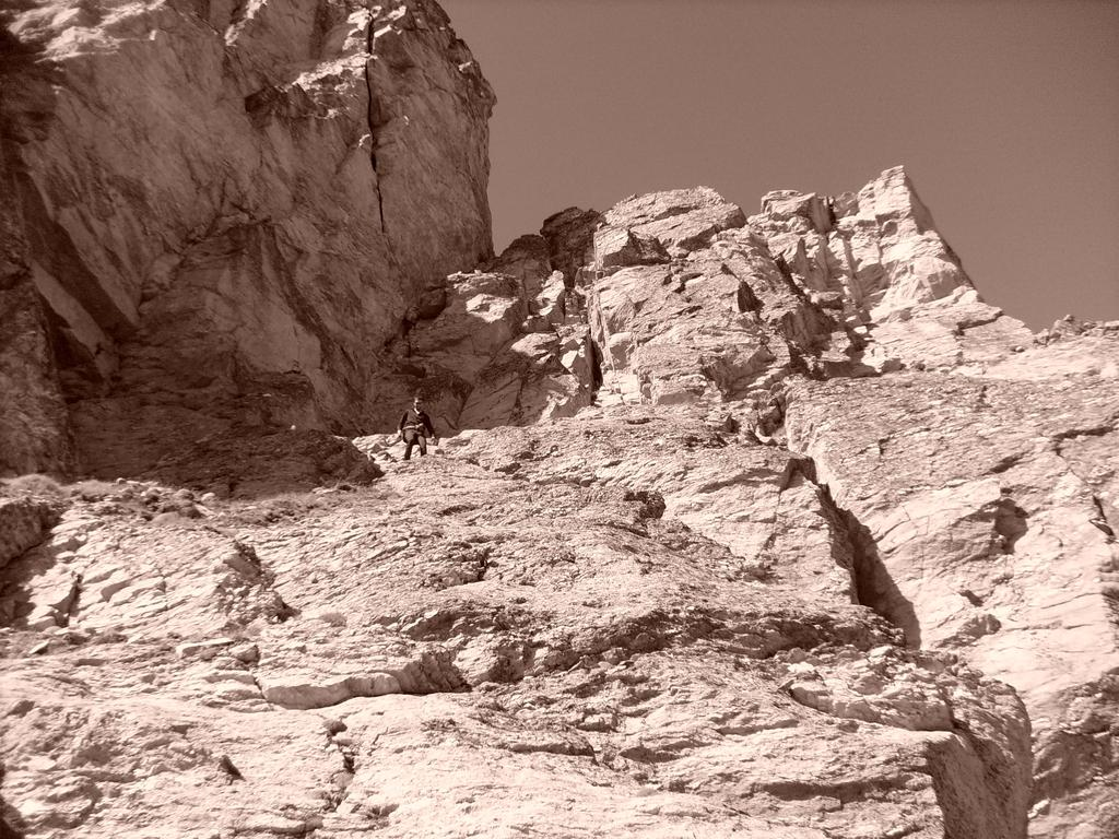 Grand Cordonnier Cresta sud parete est (via Barale) 2009-09-05