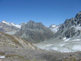 Dalla F. Durand verso il glacier d'Otemma