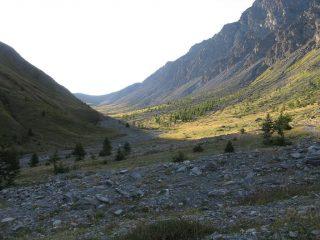 La splendida Valle di Thures
